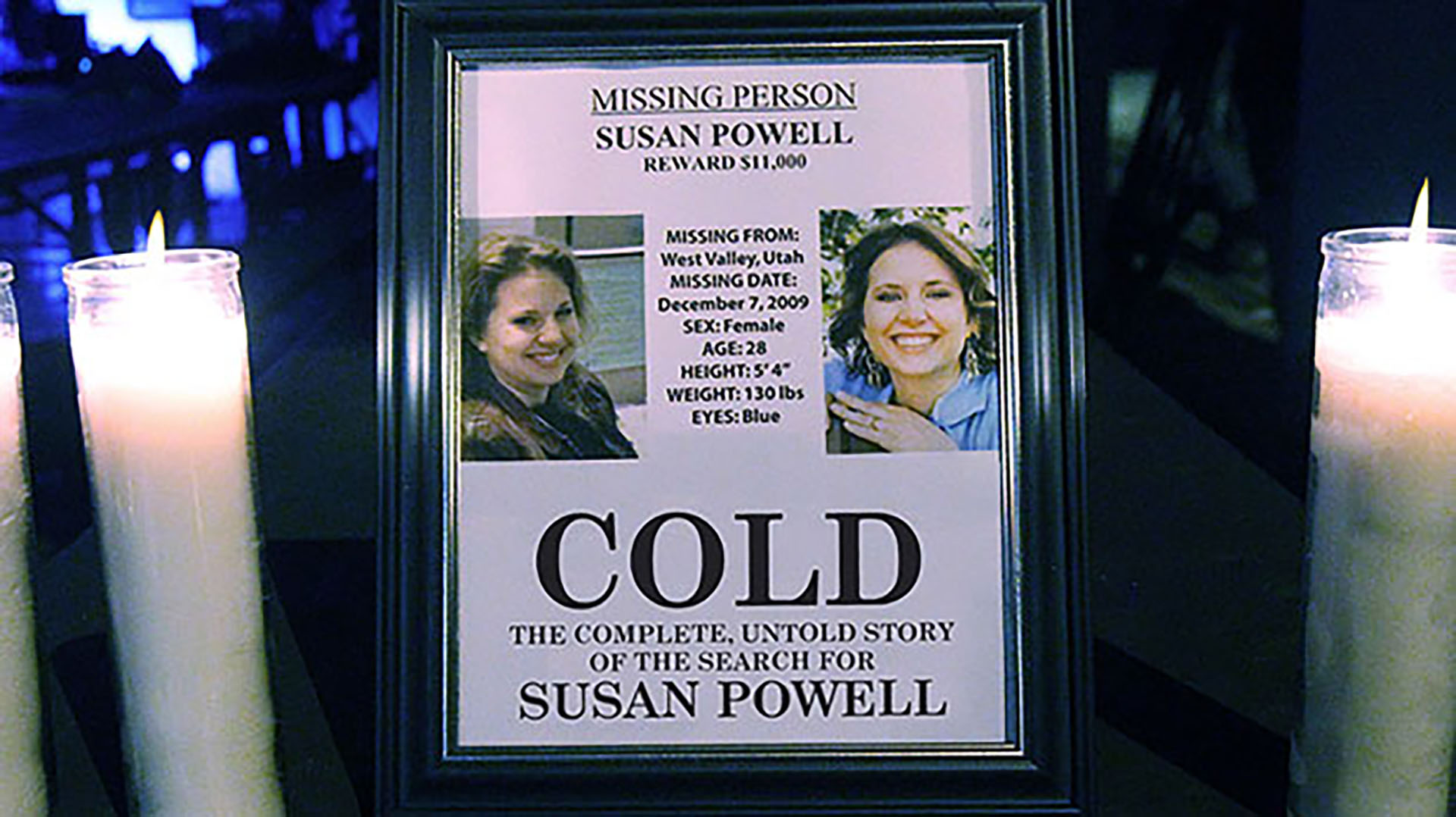 missing woman on a flyer