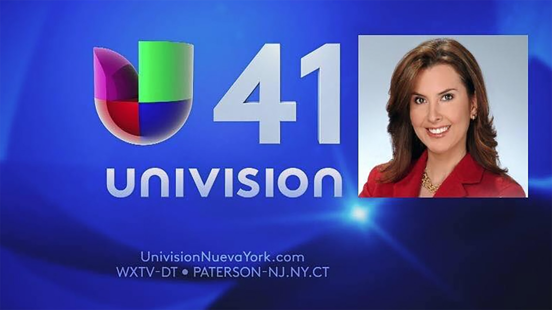 Logo for Univision41 a Tu Lado in New York City