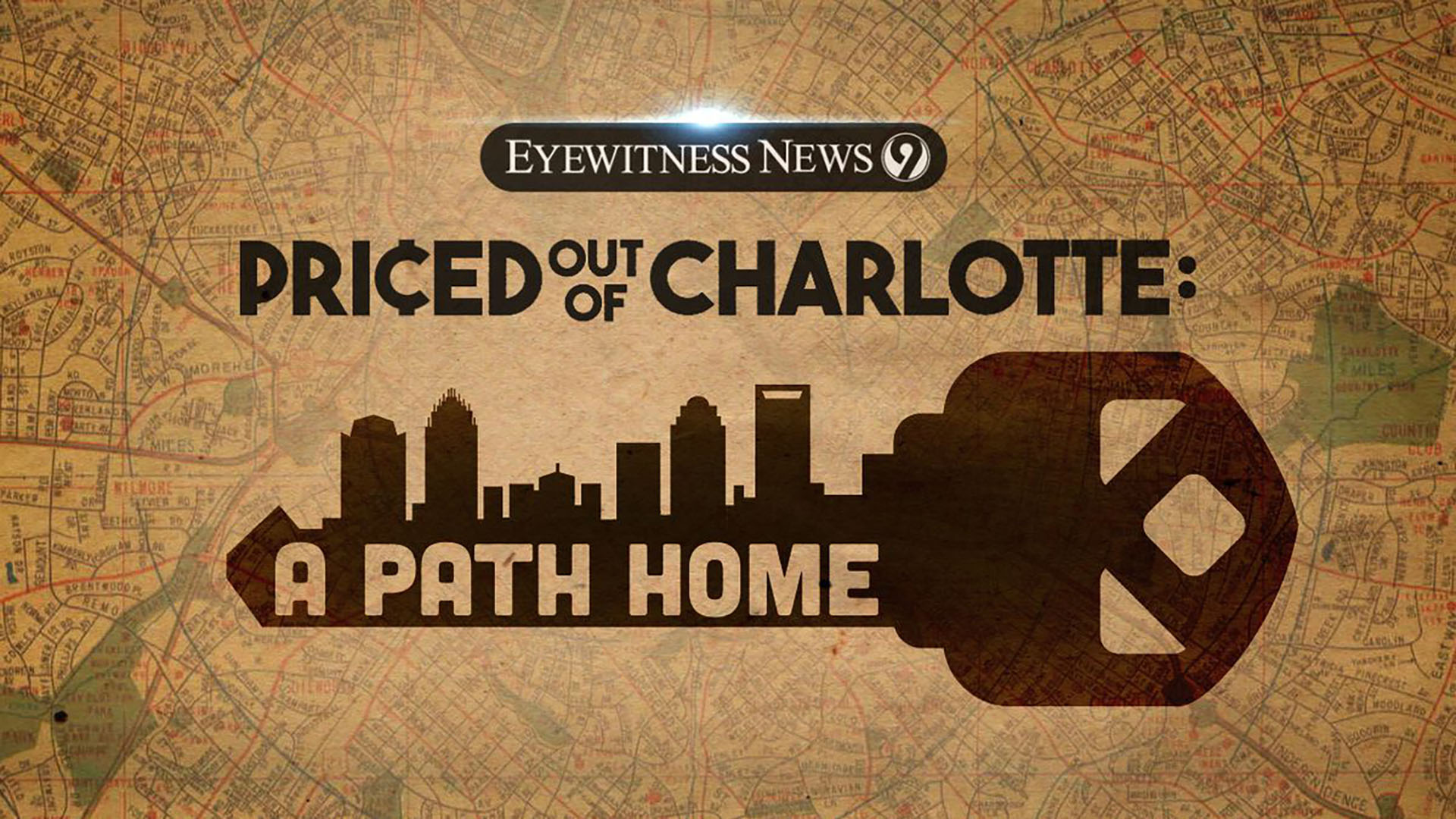WSOC's Priced Out of Charlotte series logo
