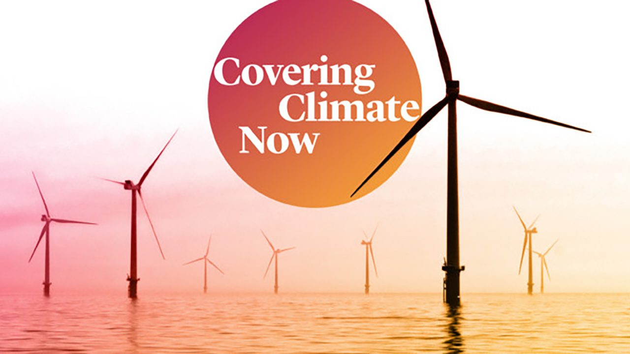 Image courtesy of Covering Climate Now and Columbia Journalism Review